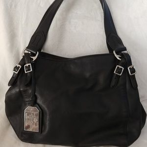 Lauren Ralph Lauren Leather Large Satchel